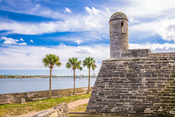 St. Augustine, Florida at the Castillo de San Marcos National Monument