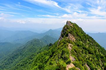 写真素材:石鎚山、石鎚、登山、山、西日本最高峰