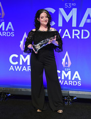 The 53rd Annual CMA Awards – Photo Room – Nashville, Tennessee, U.S.