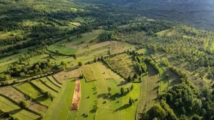 Rural landscape from Breb (Maramures, Transylvania, Romania)