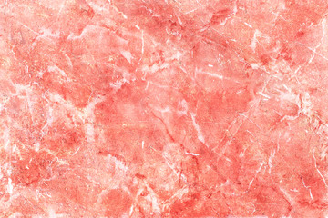 Fotobehang - Red stone marble texture.