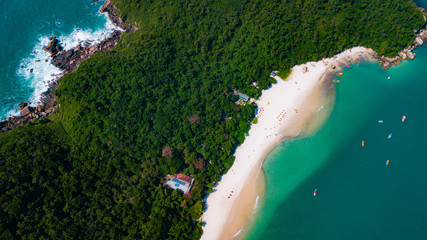 Ilha do Campeche Praia Floripa Florianópolis Island Santa Catarina Brasil Wall mural