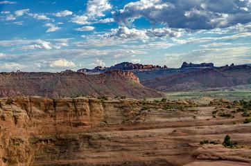 Foto op Plexiglas Diepbruine utah landscape