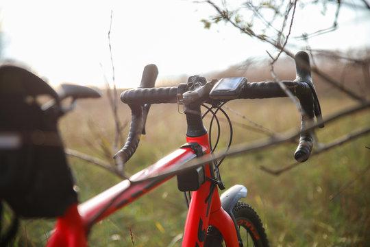 Fahrradtour durch Feld und WIesen