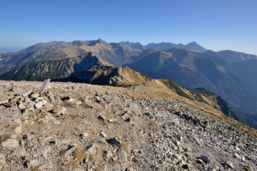 Tatra Mountains - the most beautiful mountains in Poland.
