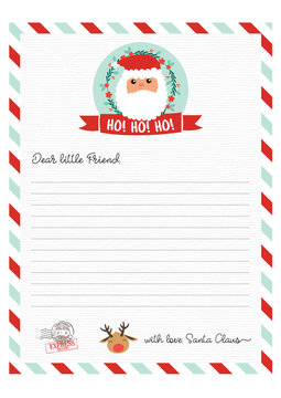 Cute Letter from Santa Claus