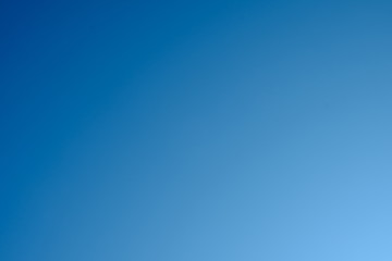 Natural blue sky gradient Wall mural