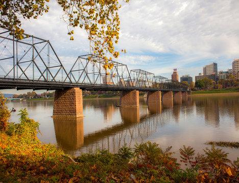 Walnut Street Bridge Harrisburg PA