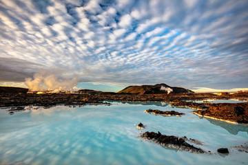 Blue Lagoon, Iceland Fototapete