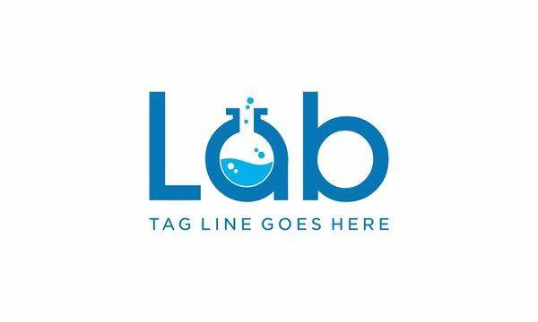 lab science technology logo designs
