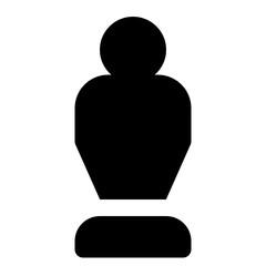 Trophy Movie Glyph Icon Vector