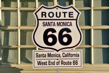 Wall Murals Route 66 Route 66 Road Sign
