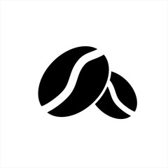 Coffee Beans icon in trendy flat style isolated on background. Coffee Beans icon page symbol for your web site design Coffee Beans icon logo, app, UI. Coffee Beans icon Vector illustration, EPS10.