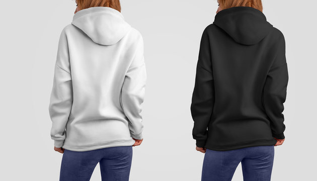 Mockup clothes set in two colors.