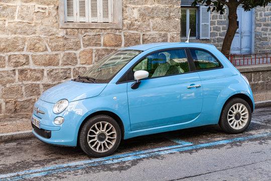 New Fiat 500 compact car