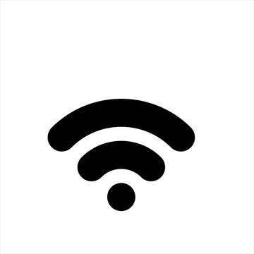 wifi icon in trendy flat style isolated on background. wifi icon page symbol for your web site design wifi icon logo, app, UI. wifi icon Vector illustration, EPS10.