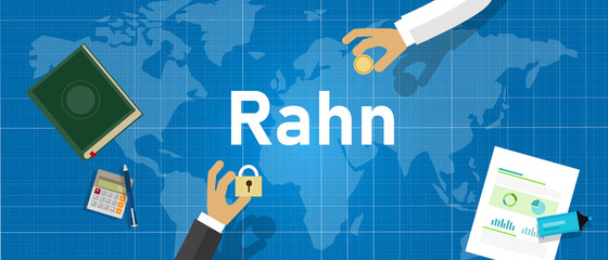 rahn is a contract that makes something as a guarantee to the completion of settlement of a debt. Collateral in Islamic finance