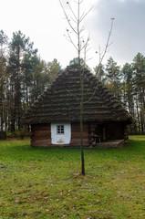 Fototapeta stary drewniany dom obraz