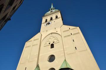 Fototapete - Chiesa di San Pietro - Monaco di Baviera
