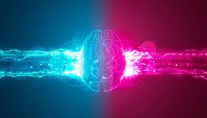 cervello, intelligenza artificiale, sinapsi, memoria, digitale