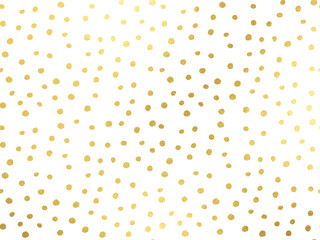 Golden dots background