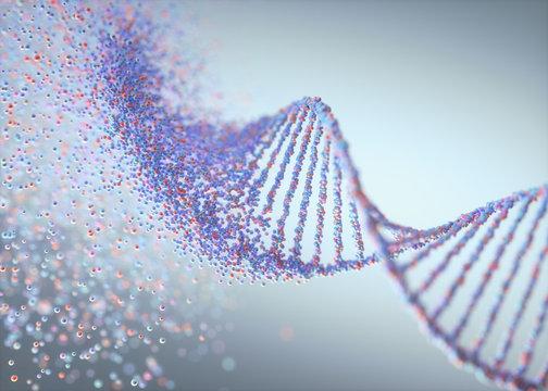 Genetic Disorder DNA Molecule Structure