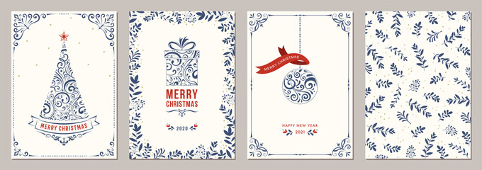 Business and Corporate Holiday Cards. Fotomurales