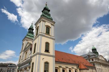 Church of St. Anne - Szent Anna Templom -, Budapest, Hungary