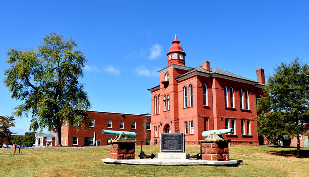 Old Prince William County Courthouse, Manassas, Virginia, USA