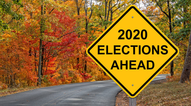 2020 Elections Ahead Warning Sign