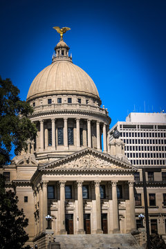 Mississippi State Capitol Building Located in Jackson Mississippi