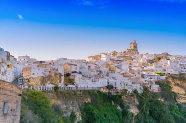 Arcos de la Frontera, white town of Cadiz. Andalusia, Spain.