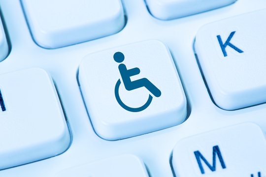 Internet web accessibility online website computer people with disabilities handicap