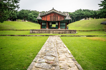 Changneung tombs at Seooreung Royal burial site of the Joseon Dynasty cluster in South Korea