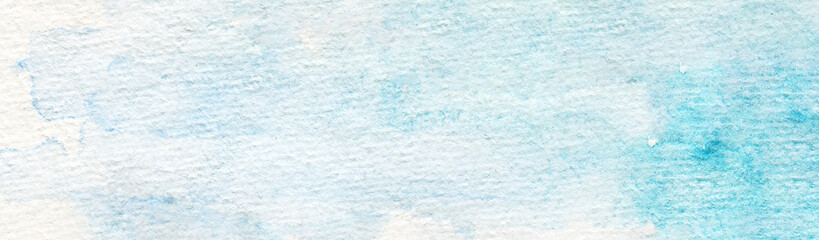 Printed kitchen splashbacks Light blue Hand Drawn Dreamy Abstract Traditional Watercolor Background