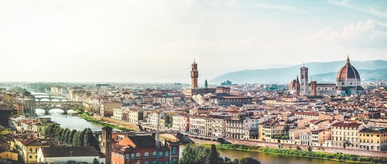 Wall Murals Florence view of florence italy