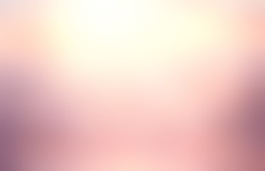 Rosy glow blur background. Flare exquisite abstract texture.