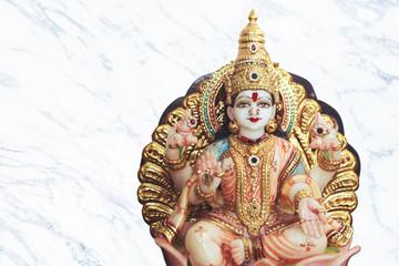Wall Mural - Hindu goddess lakshmi devi