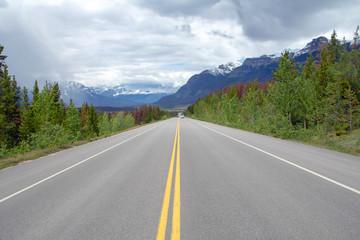 Kanada, Icefields Parkway im Jasper Nationalpark