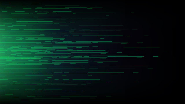 Connection speed line abstract technology background