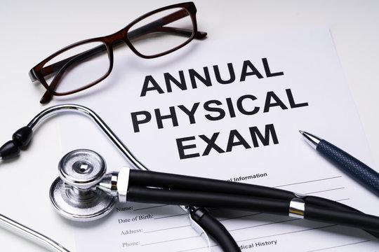 Annual Physical Exam Form