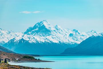 Aoraki / Mount Cook, the highest mountain in New Zealand
