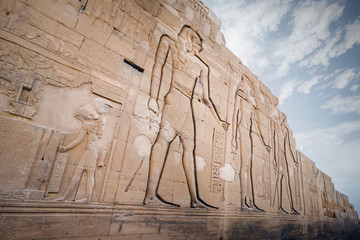 Wall Murals Place of worship The temple of Kom Ombo in Egypt