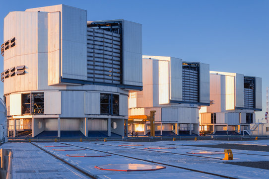 The Very Large Telescope complex at the European Southern Observatory