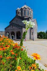 Foto op Canvas Sprookjeswereld Saint Grigor Narekatsi Church of Vanadzor, Armenia