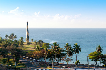 Santo Domingo waterfront, shoreline and shyline - Dominican Republic - Caribbean tropical island