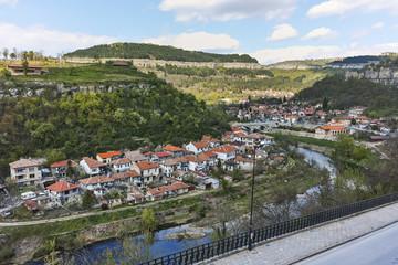 Panorama of city of Veliko Tarnovo, Bulgaria