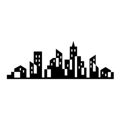 Fotomurales - City Skyline vector illustration