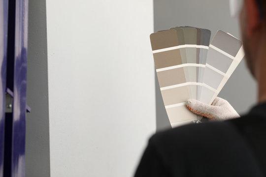 Interior designed with palette