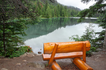 Kanada, Valley of the five Lakes, fifth Lake, Jasper Nationalpark